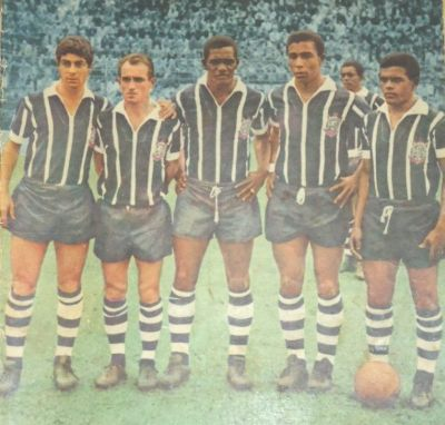 F 05 - Corinthians - RE 311 - Marcos, Luizinho, Silva,  Flu00E1vio e GPorto