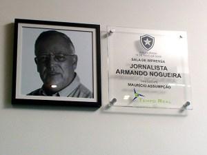 Foto 04 - Sala de Imprensa no Botafogo FR