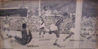 1948 - Botafogo 3 x Vasco 1 - gol de Braguinha  -