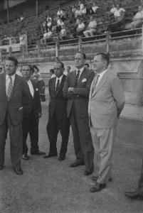 Treino da Seleção Inglesa no campo do Fluminense, 47 negativos 35 mm PB acetato