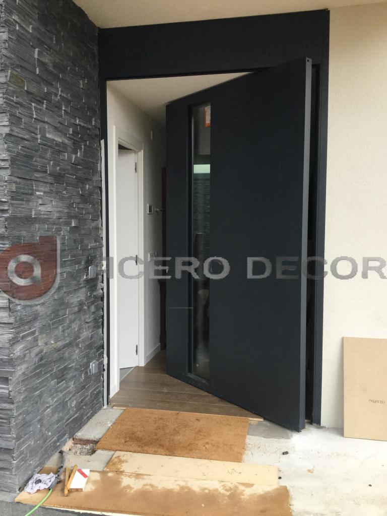 Puertas modernas de hierro Acero Decor Puertas exclusivas
