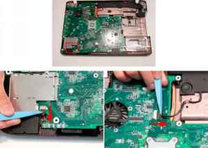 Removing the RTC Battery  Acer Aspire 8942 8942G