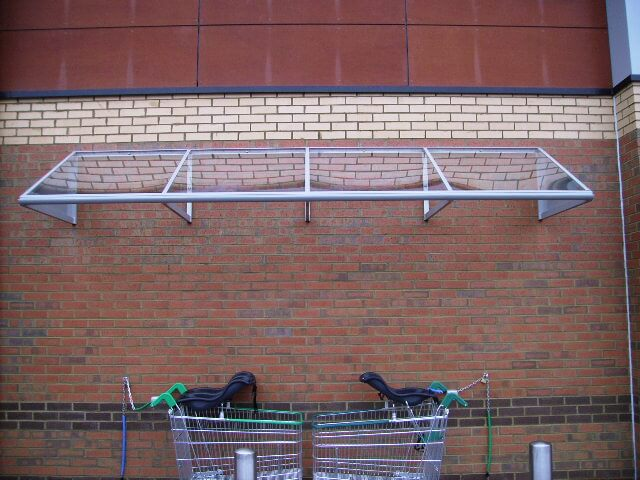 Wall Mounted Smoking Canopy Ace Shelters