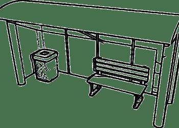 Covered Walkways, Bus Shelters, School Canopies, Pram