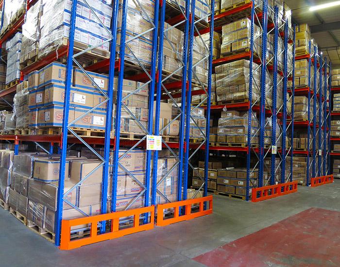 double deep pallet racking storage