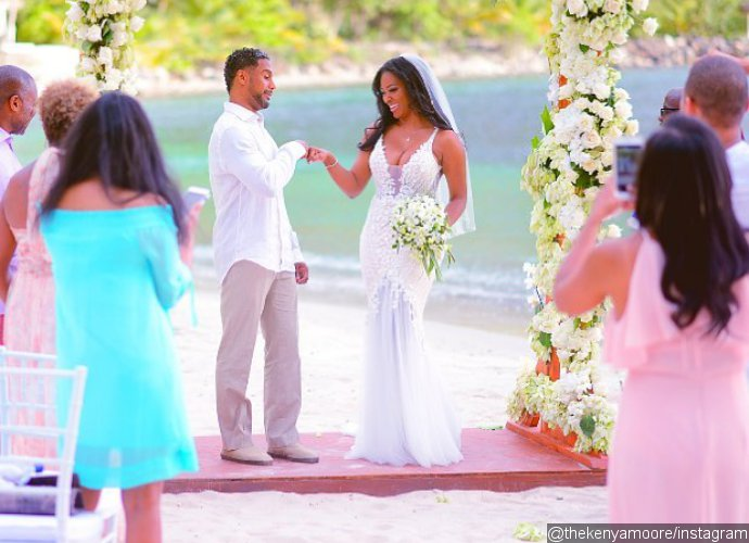 Kenya Moore Finally Reveals Husband's Face and Name in New Instagram Post