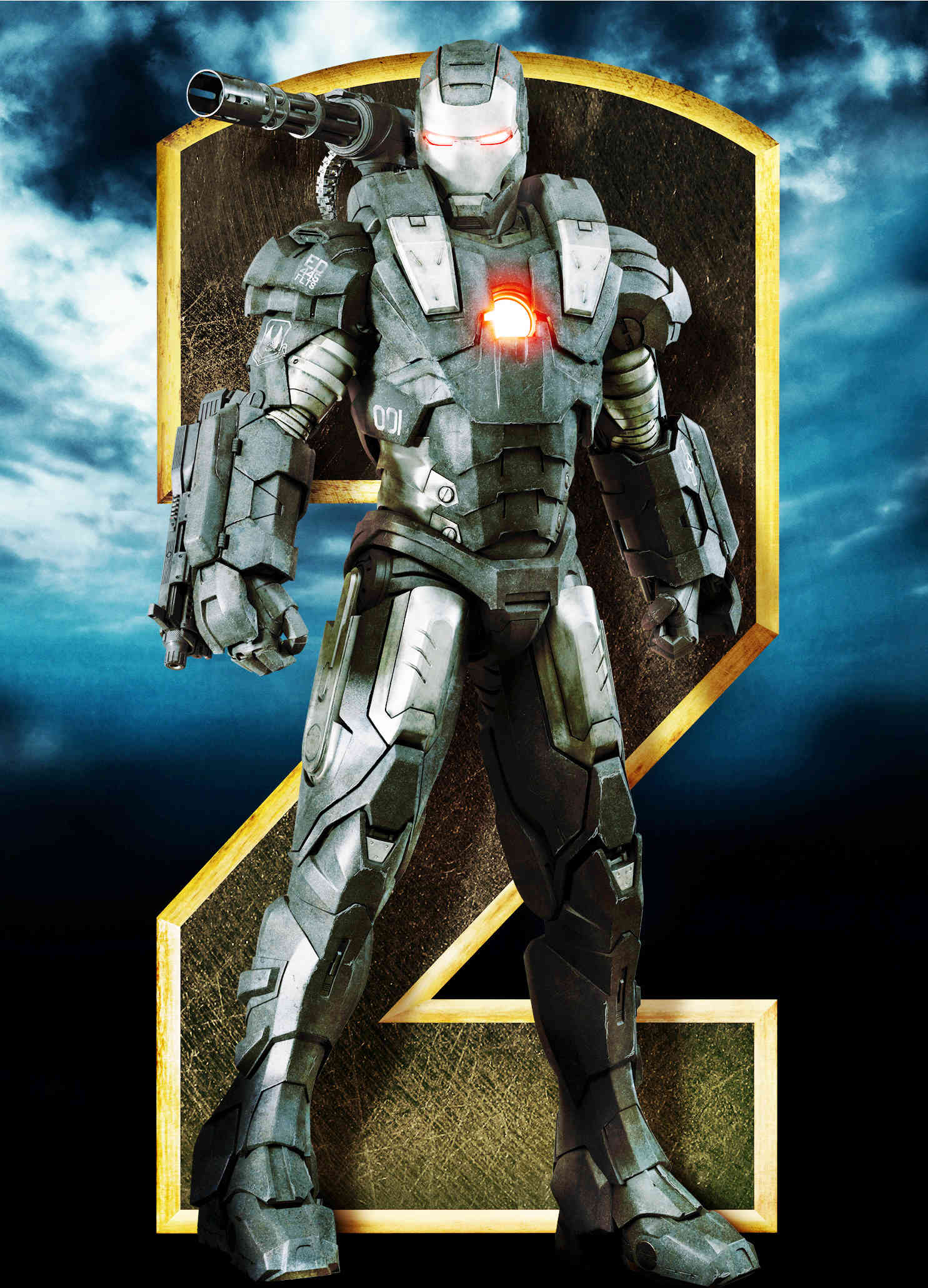 Iron Man 2 Gets New Standee Character Posters and Production Image