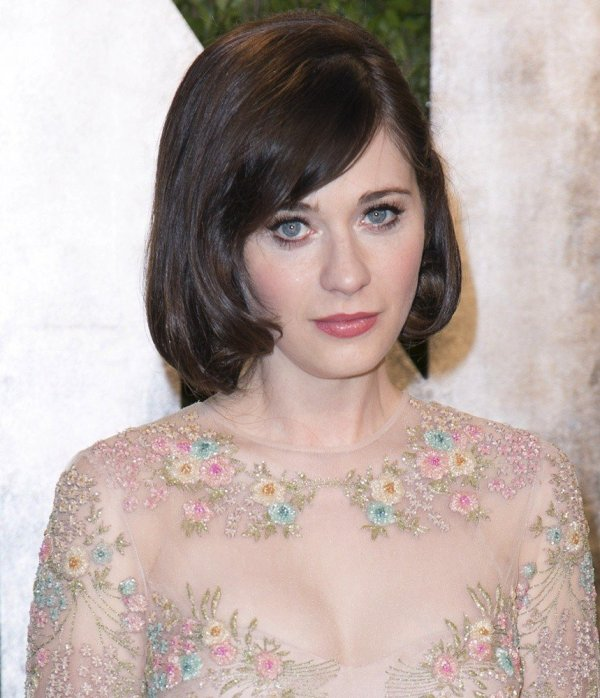 Zooey Deschanel 107 - 2013 Vanity Fair Oscar Party Arrivals