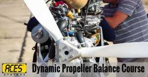 dynamic propeller balance course