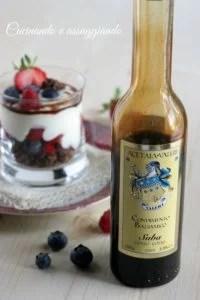 yogurt balsamico