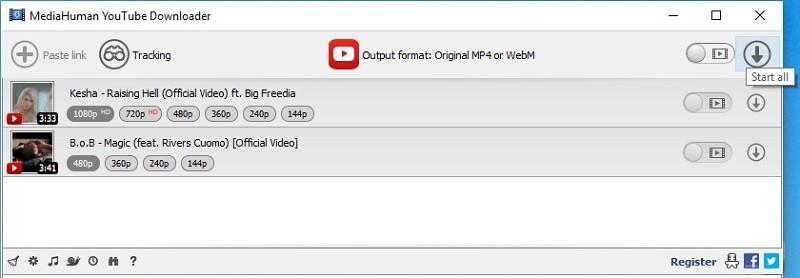 4k Video herunterladen mediahuman