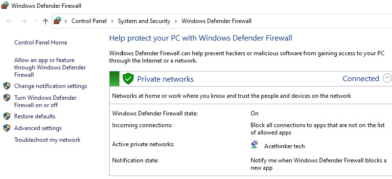 Twitter funktioniert nicht Update Firewall