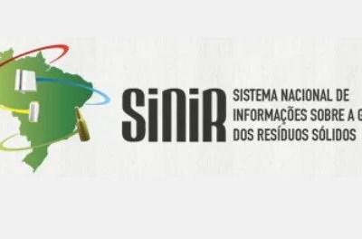 SISTEMA NACIONAL DE INFORMAÇÕES SOBRE A GESTÃO DOS RESÍDUOS SÓLIDOS – SINIR