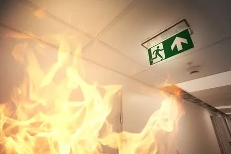 37932579 - emergency exit and fire alarm