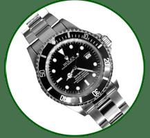 Rolex gents submariner Black dial and bezel