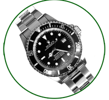 Rolex gents submariner Black dial and bezel
