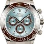 Rolex Platinum Daytona with Ice Blue Dial