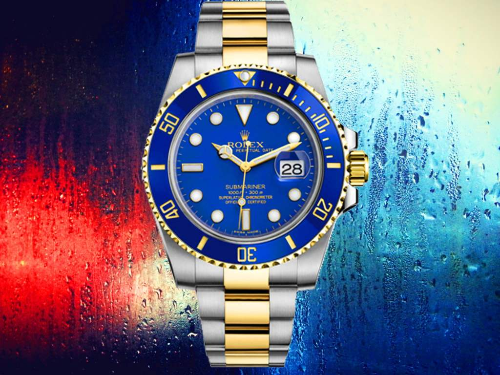 Rolex Blue Submariner