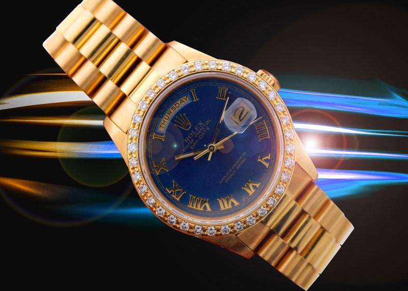 Rolex 18k President