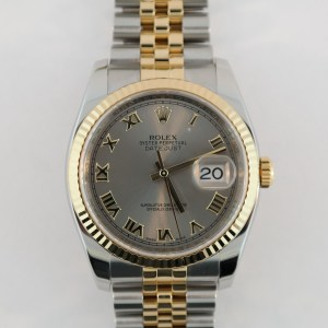 Rolex Datejust 116233 Gray Slate Dial