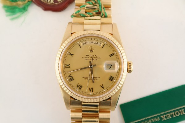 Rolex Day-Date 18238 President Mint