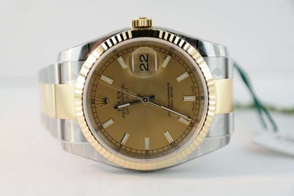 Rolex Datejust 116233 Two-Tone Oyster Band