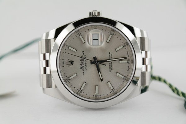 Rolex Datejust 41 126300 Silver Dial Jubilee Band