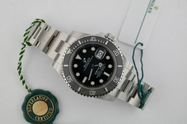 Men's Rolex Submariner Date 116610LN Black Ceramic Bezel Black Dial Year 2019