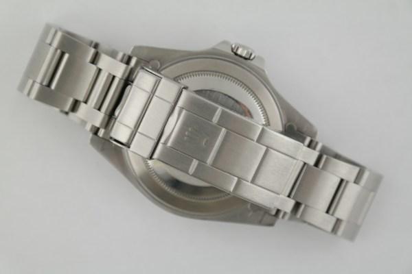 Rolex Explorer II 16570 Black Dial Oyster Band