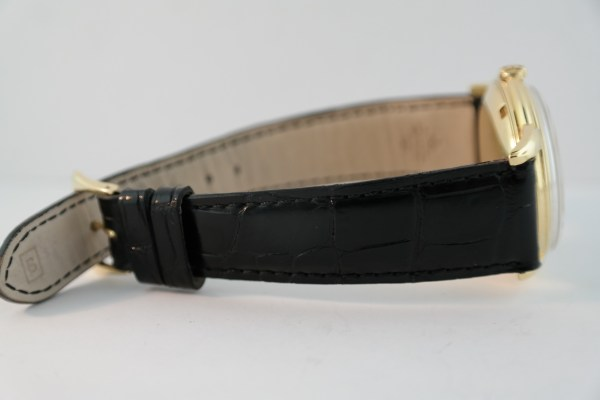 Vintage Patek Philippe Calatrava 2551 18K Black Leather Strap