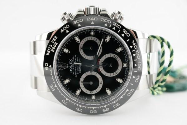 Men's Rolex Daytona 116500LN Black Ceramic Bezel & Dial Oyster Band Unworn 2020