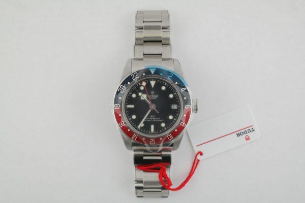 """Tudor Black Bay Heritage GMT 79830RB """"Pepsi"""" Stainless Steel Year 2020 Unworn"""