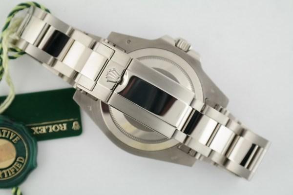Rolex GMT-Master II 116719BLRO 18K White Gold Blue & Red Ceramic Bezel Year 2018