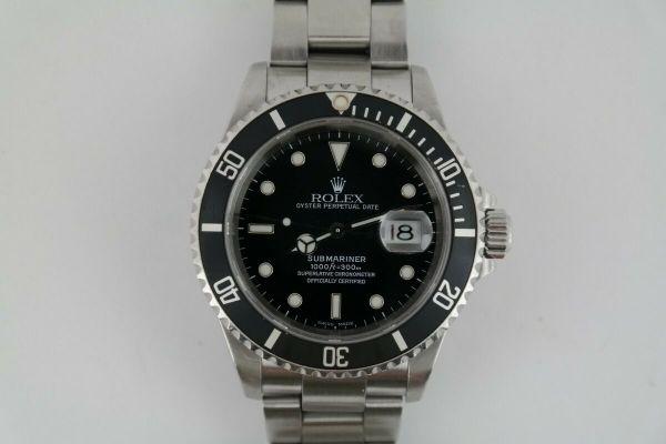 Rolex Submariner 16610 Black Dial & Bezel