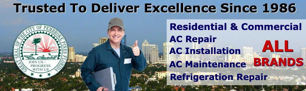 ac repair service pembroke pines fl air conditioning contractors south florida