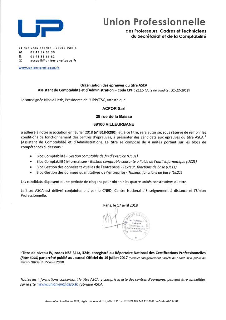 formations en comptabilité éligible au CPF