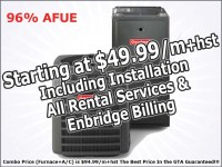 Furnace Rental Toronto | Air Conditioner Rental Mississauga
