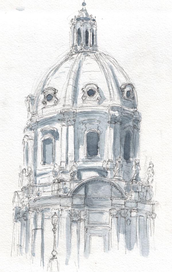Croquis de Rome