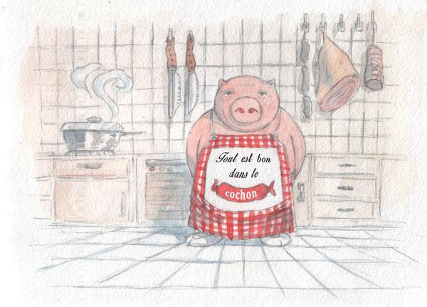 Tout est bon dans le cochon