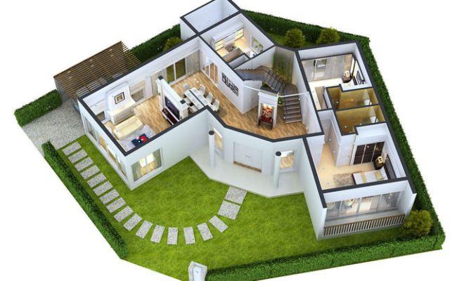 Modern Home 3d Floor Plans Everyone Will Like Acha Homes