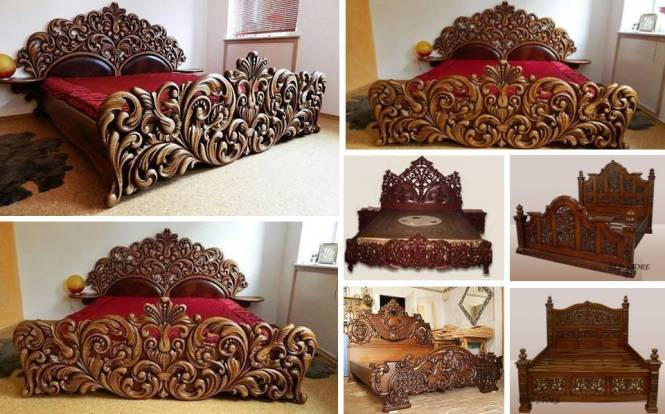 Unique Handmade Wooden Bed Frame Decor You Will Love