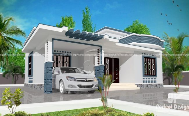 10 Lakhs Cost Estimated Modern Home Plan Everyone Will