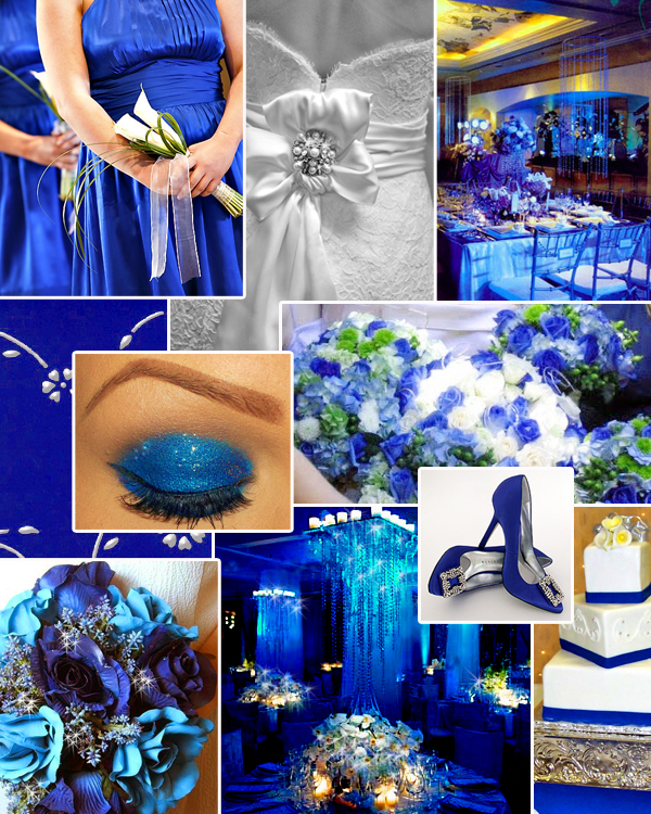 Ideas Royal Blue And Green Wedding Cakes For 3 Tier