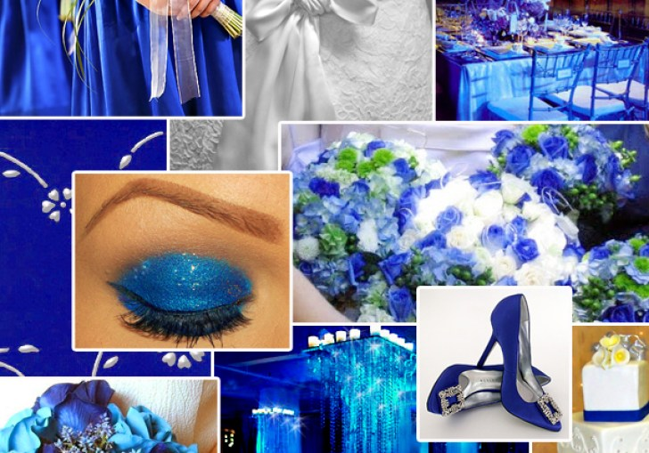 Blue Wedding Colors