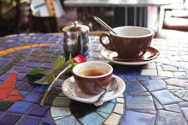 Café italien.