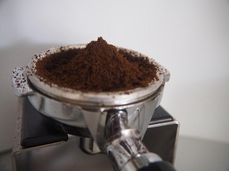 Café moulu.