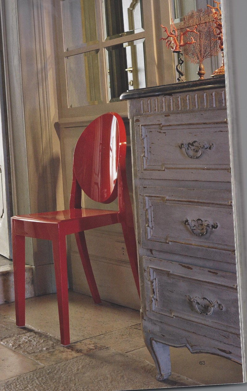 Chaise Victoria Ghost KARTELL  STYLES DECORATION