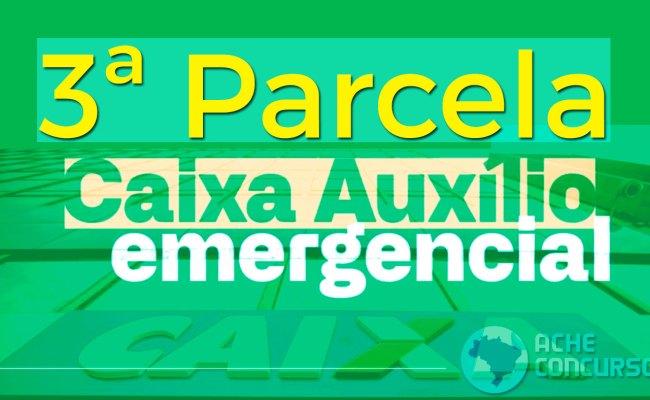 Caixa Começa A Pagar 3ª Parcela Do Auxílio Emergencial