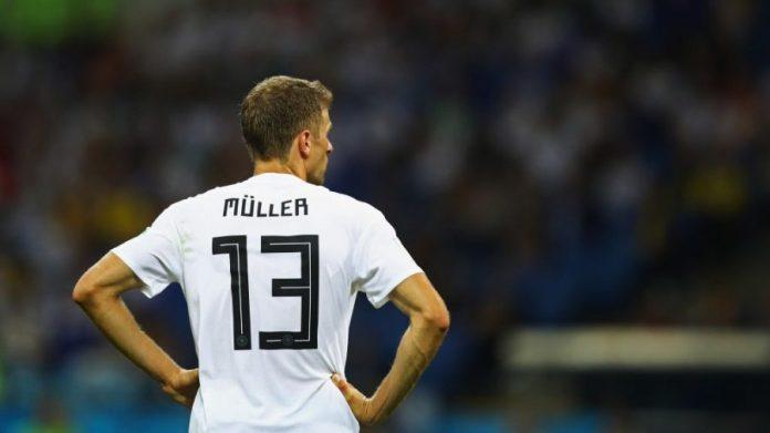 Thomas Muller foi uma das decepções da seleção alemã no torneio