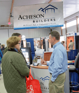 Photo of Keith Patton meeting with Guests at HGL 2015